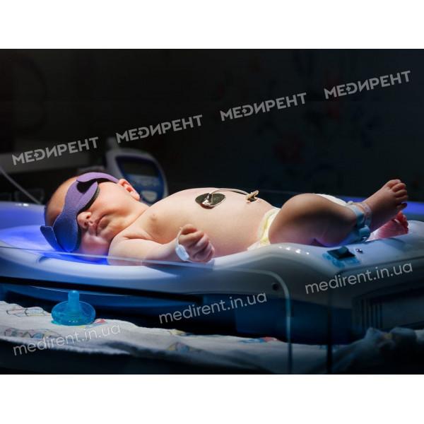 Многоразовые очки для сеанса фототерапии на новорожденном
