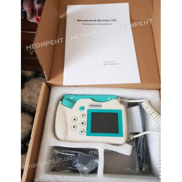 Комплектация прибора для контроля сердцебиения плода у беременных