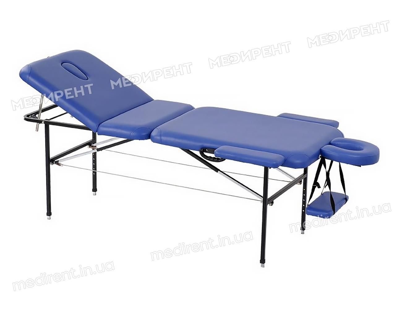 Массажный стол трехсекционный складной и переносной