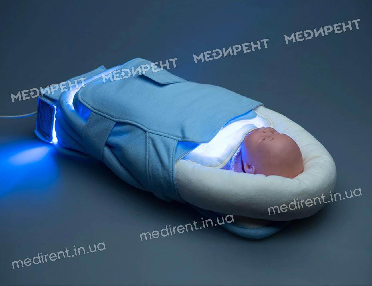 Фотоодеяло для лечения желтушки у новорожденных